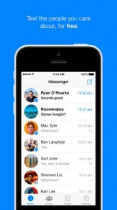 Facebook Messenger for Android and Iphone