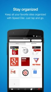 Opera for Android and Iphone