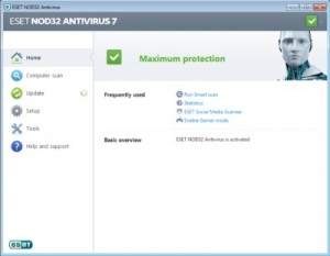 X ESET NOD32 Antivirus