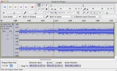 تحميل برنامج فصل الصوت عن الموسيقى audacity