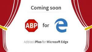 Adblock Plus for Edge